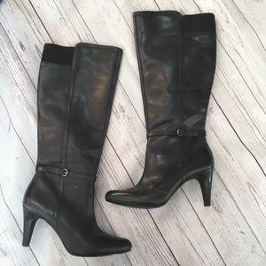 CIRCA JOAN & DAVID LUXURY Leather Heeled Boots